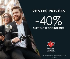 Ventes Privées Optical Center