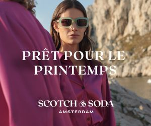 Scotch & Soda - prêt pour le printemps