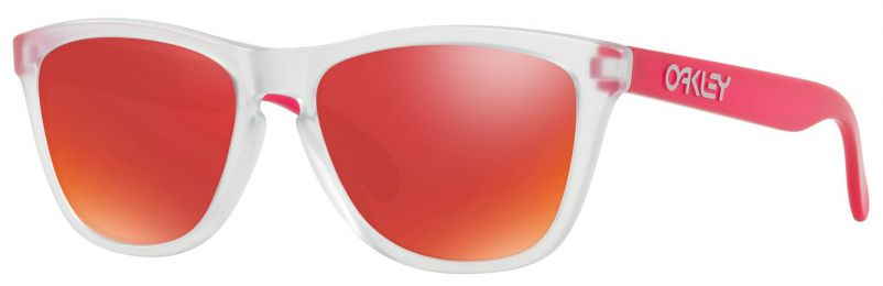 Solaires Oakley Frogskins Clear OO9013 B355 55-17