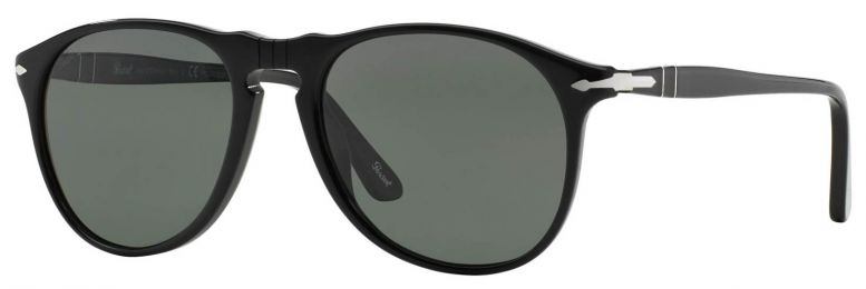 Solaires Persol 649 Series Noir Medium PO9649S 96/56 52-18