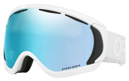 Solaires Oakley Canopy Factory Pilot Whiteout Snow Goggle Prizm OO7047 56