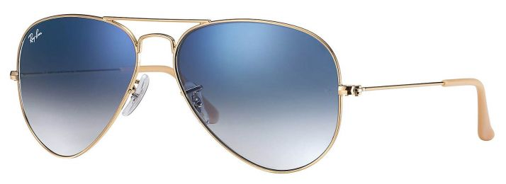 Solaires Ray-Ban Aviator Gradient Medium RB3025 001/3F 58-14