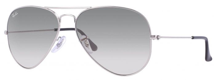 Solaires Ray-Ban Aviator Gradient Small RB3025 003/32 55-14