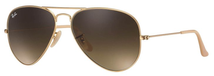 Solaires Ray-Ban Aviator Gradient Medium RB3025 112/85 58-14