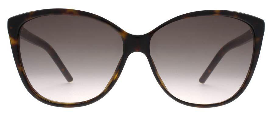Lunettes de soleil Marc Jacobs MARC 69 S 086 HA 58-14 pas chères ... eb1b363ea92a