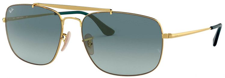 Solaires Ray-Ban Aviator The Colonel Or RB3560 9102/3M 58-17