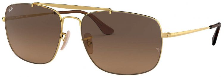 Solaires Ray-Ban Aviator The Colonel Medium RB3560 9104/43 58-17