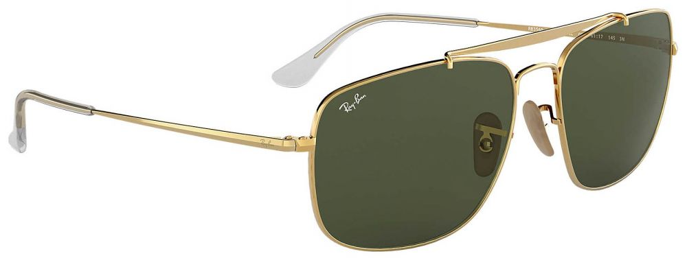 4b6bbfa96699b1 Lunettes de soleil Ray-Ban Aviator The Colonel Or RB3560 001 61-17 ...