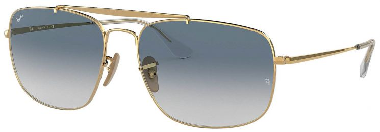 Solaires Ray-Ban Aviator The Colonel Or RB3560 001/3F 61-17