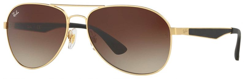 Solaires Ray-Ban Aviator Large Metal Or RB3549 112/13 58-16