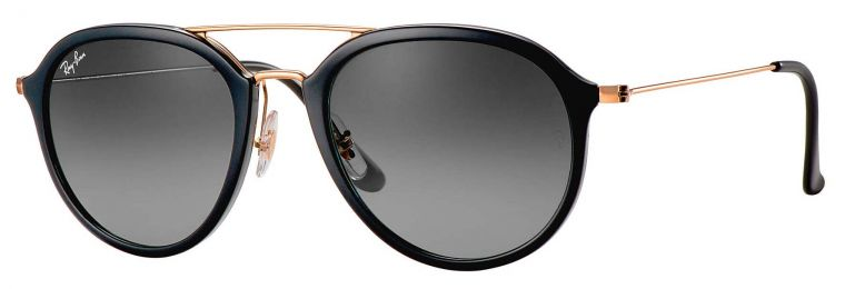Solaires Ray-Ban Autres modèles Highstreet Small RB4253 601/71 50-21