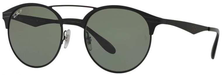 Ray-Ban Double Bridge Métal Noir RB3545 186/9A 54-20