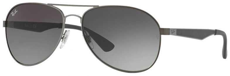 Solaires Ray-Ban Aviator Large Metal Gris RB3549 029/11 61-16