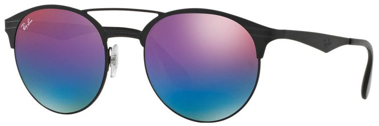 Ray-Ban Double Bridge Métal Noir RB3545 186/B1 51-20