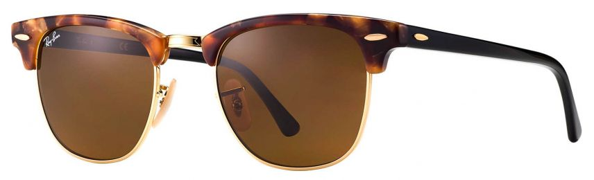 Ray-Ban Clubmaster Fleck Small RB3016 1160 49-21