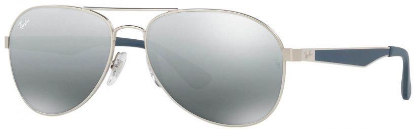 Solaires Ray-Ban Aviator Large Metal Gris RB3549 901288 61-16