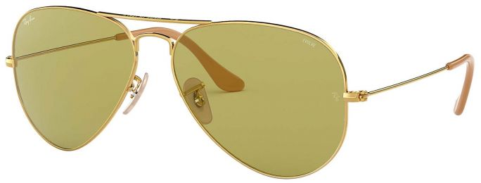 Ray-Ban Aviator Evolve Large Métal Or RB3025 9064/4C 58-14