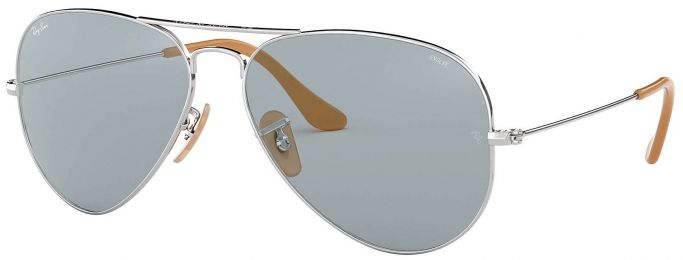 Solaires Ray-Ban Aviator Evolve Métal Argent RB3025 9065/I5 55-14