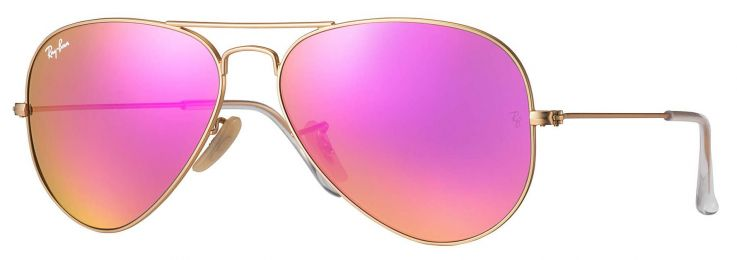 Solaires Ray-Ban Aviator Flash Lenses Medium RB3025 112/4T 58-14