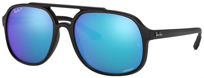 Solaires Ray-Ban Aviator Noir RB4312-CH 601-S/A1 57-18