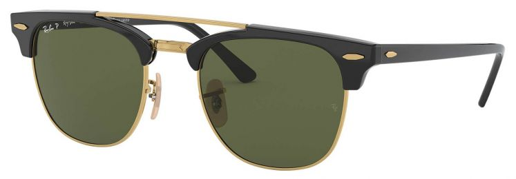 Ray-Ban Clubmaster Double Bridge RB3816 901/58 51-21