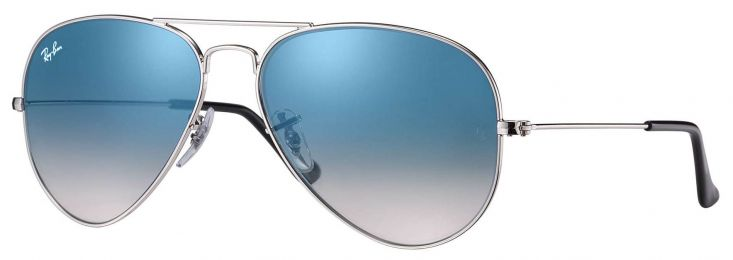 Solaires Ray-Ban Aviator Gradient Medium RB3025 003/3F 58-14