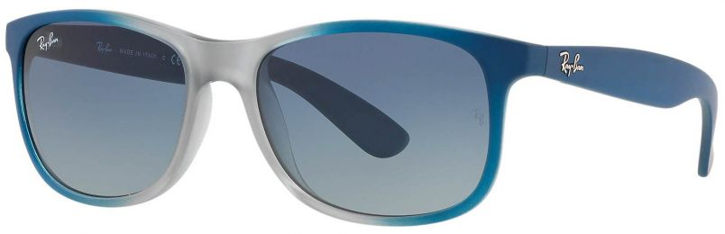 Solaires Ray-Ban Andy Gris Bleu RB4202 63704L 55-17