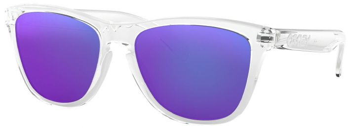 Solaires Oakley Frogskins Polished Clear OO9013 24-305 55-17