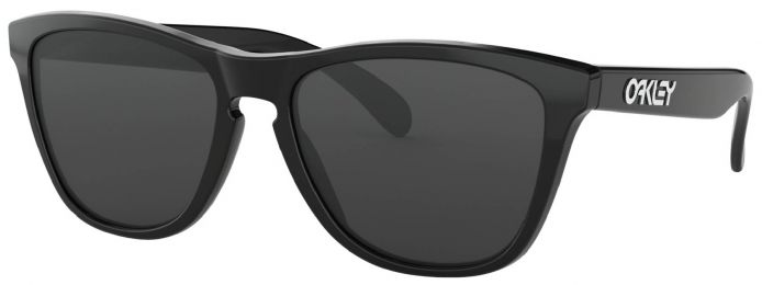 Solaires Oakley Frogskins Polished Black OO9013 24-306 55-17