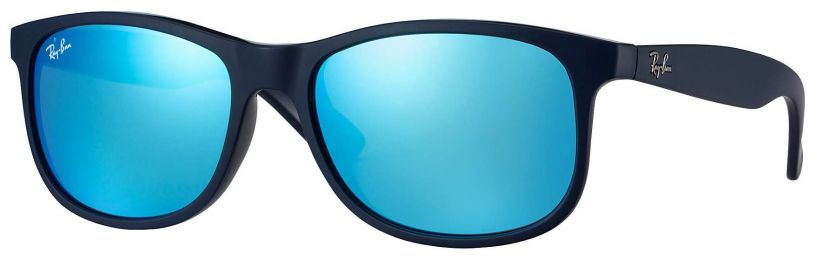 Solaires Ray-Ban Andy Bleu RB4202 6153/55 55-17