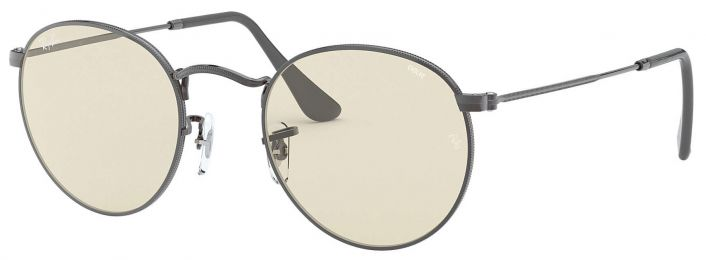 Ray-Ban Round Solid Evolve Large RB3447 004/T2 53-21