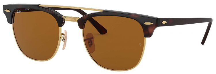 Ray-Ban Clubmaster Double Bridge RB3816 990/33 51-21