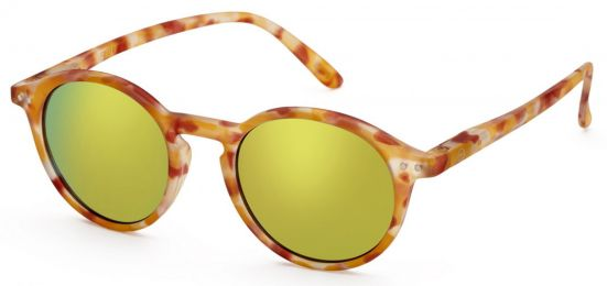 Solaires Izipizi Sun & Sun Reading #D Yellow Tortoise Mirror