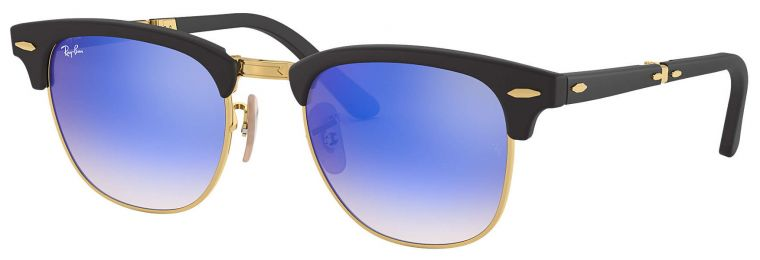 Ray-Ban Clubmaster Folding RB2176 901S/7Q 51-21