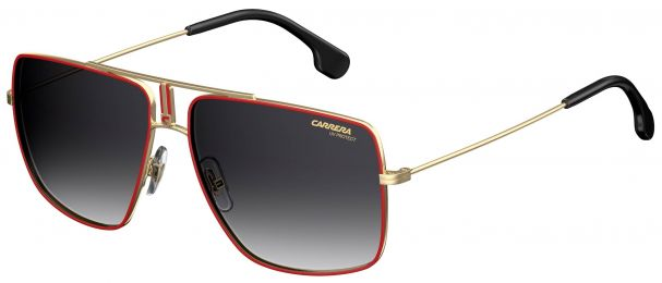 Carrera Flag Rouge Or Noir Medium 1006/S AU2/9O 60-14