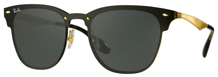 Ray-Ban Clubmaster Blaze Small RB3576N 043/71 41-21