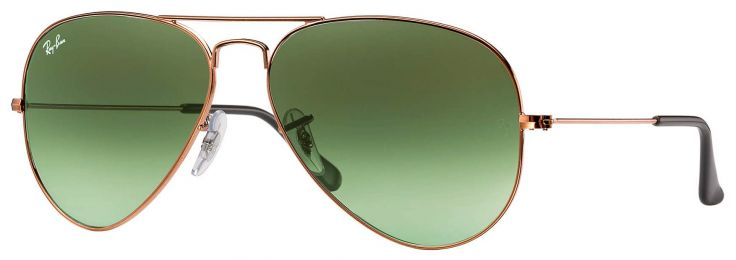 Solaires Ray-Ban Aviator Gradient RB3025 9002/A6 58-14