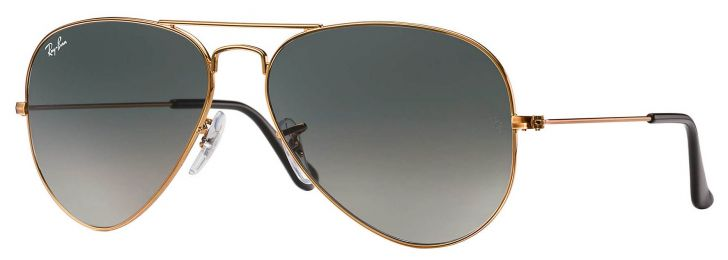Solaires Ray-Ban Aviator Gradient RB3025 197/71 58-14