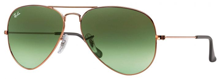 Solaires Ray-Ban Aviator Gradient RB3025 9002/A6 55-14