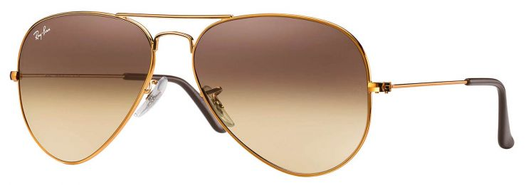 Ray-Ban Aviator Gradient RB3025 9001/A5 55-14