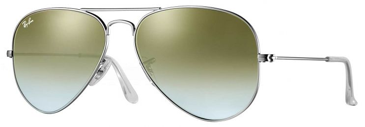 Solaires Ray-Ban Aviator Flash Lenses Gradient RB3025 019/9J 58-14
