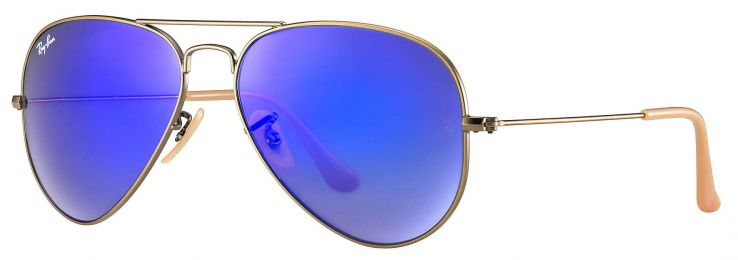 Solaires Ray-Ban Aviator Flash Lenses RB3025 167/68 58-14