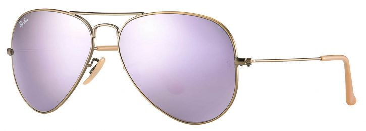 Solaires Ray-Ban Aviator Flash Lenses RB3025 167/4K 58-14