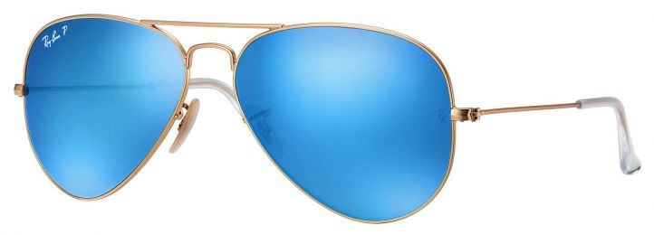 Solaires Ray-Ban Aviator Flash Lenses RB3025 112/4L 58-14