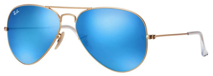 Solaires Ray-Ban Aviator Flash Lenses RB3025 112/17 62-14
