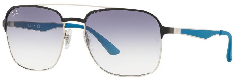 Solaires Ray-Ban Aviator Métal Argent RB3570 9109/19 58-18