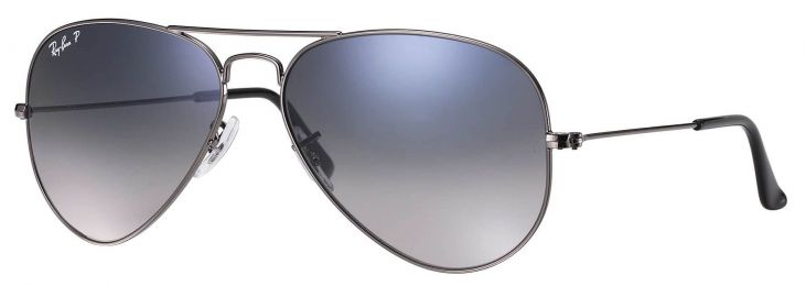 Solaires Ray-Ban Aviator Gradient Medium RB3025 004/78 58-14
