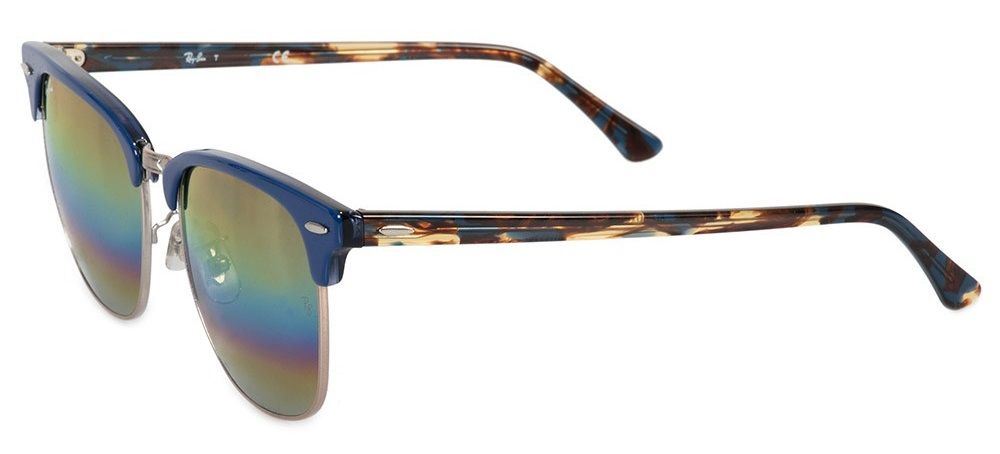 ... Solaires Ray-Ban Clubmaster Mineral Flash Lenses Medium RB3016 1223 C4  51-21 4594549a4a72