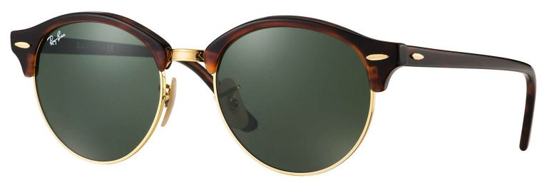 Ray-Ban Clubmaster Clubround Classic RB4246 990 51-19