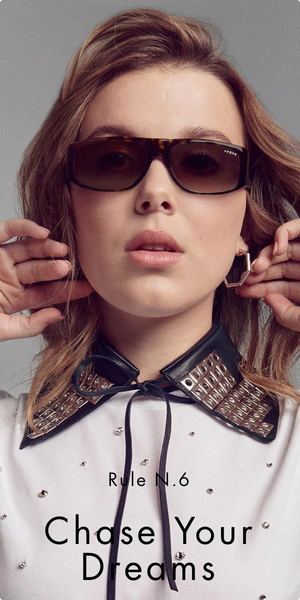Collection Millie Bobby Brown x Vogue Eyewear